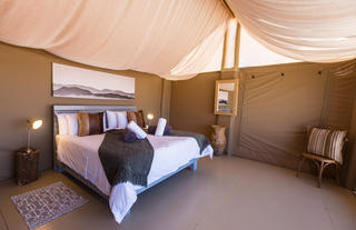 Tented Room with King Size Extra Length Bed