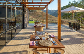 Cederberg Ridge Wilderness Lodge_Alfresco Dinning