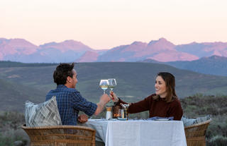 Cederberg Ridge Wilderness Lodge_Dining at Dusk