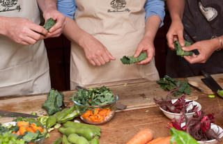 Cooking courses in the farm kitchen