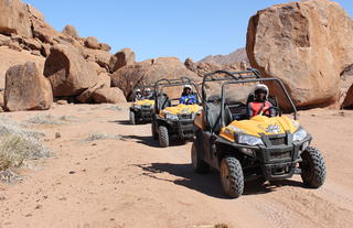Sossusvlei Lodge Adventure - Guided Quad Buggy Nature Drive