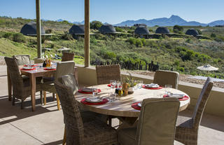 Kwena Lodge Dining Area View