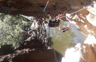 Canyoning in the Batoka Gorge