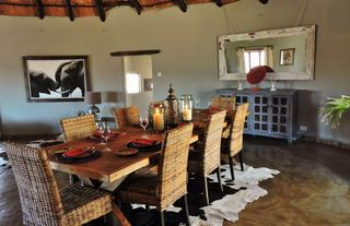 The Home-Stead dining area