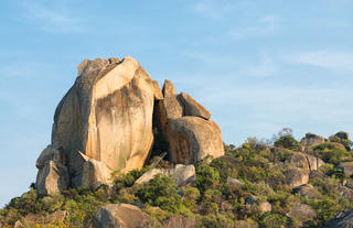 Matopos is know for it beautiful granite rock formations