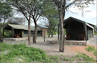 Fiume Bush Camp Tents