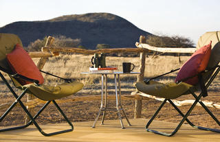 Okonjima Plains Camp Standard Room Verandah