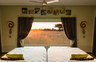 Okonjima Plains Camp View room