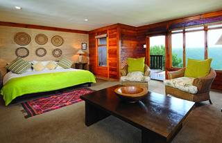 Ukhozi Lodge suite