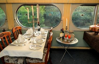 Dining Car on the Stimela Star